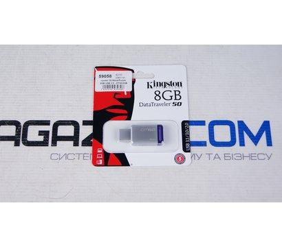 Фото №2 USB флешки Kingston DataTraveler 50 Metal/Purple 8GB USB 3.0 - DT50/8GB