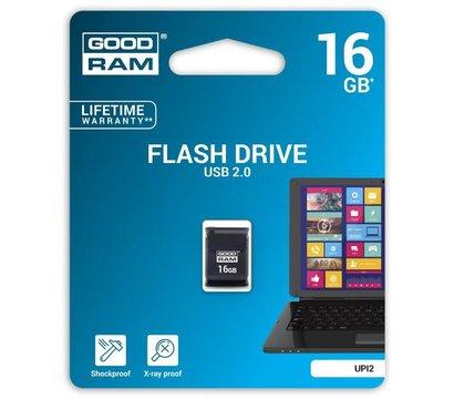 Фото №1 USB флешки GoodRam Piccolo Black 16GB USB 2.0 - UPI2-0160K0R11