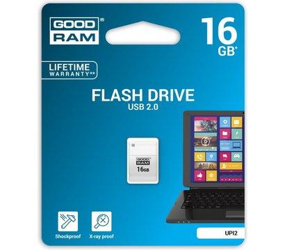 Фото №1 USB флешки GoodRam Piccolo White 16GB USB 2.0 - UPI2-0160W0R11