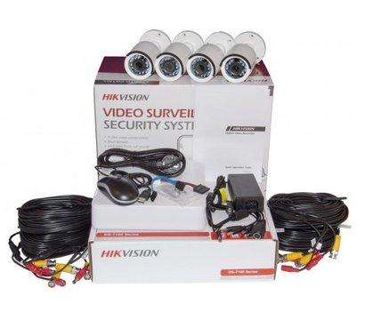 Фото №3 видеокомплекта HikVision DS-J142I/7104HGHI-F1