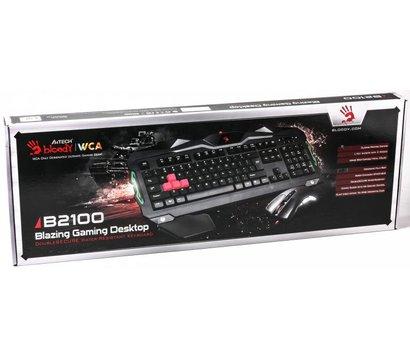 Фото №1 комплекта мышь+клавиатура A4Tech B2100 Bloody USB Black