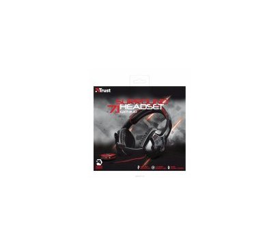 Фотография 4 аудио техники Гарнитура Trust GXT 340 7.1 Surround Gaming Headset Black — 19116