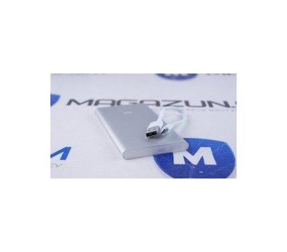 Фото №2 универсальной мобильной батареи Xiaomi Mi Power Bank 5000 mAh Silver