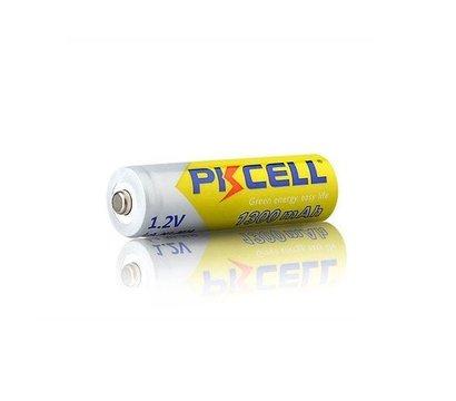 Фото №1 батарейки Pkcell 1.2V AA 1300mAh NiMH Rechargeable Battery, 4 шт.