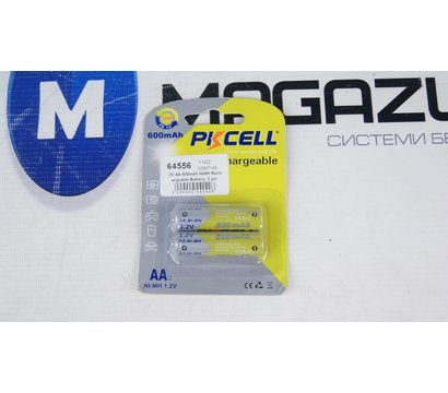 Фото №1 батарейки Pkcell 1.2V AA 600mAh NiMH Rechargeable Battery, 2 шт.