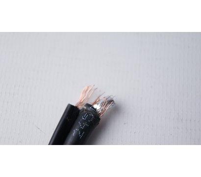 Фото №2 коаксиального кабеля Dialan RG-59+2x0.5 черн. 1м.