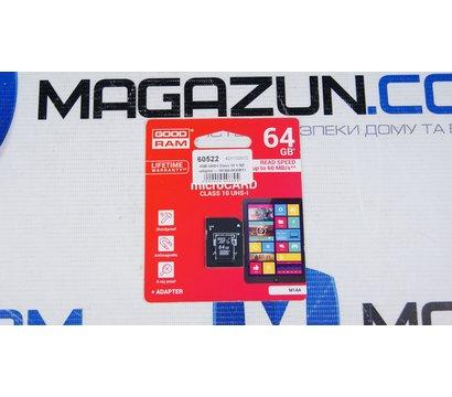 Фото №1 карты памяти GoodRam MicroSDXC 64GB UHS-I Class 10 + SD-adapter — M1AA-0640R11