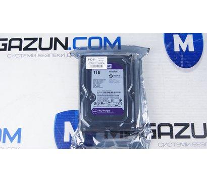 Фото №1 жесткого диска Western Digital Purple 1TB 64МB 3.5 SATA III — WD10PURZ