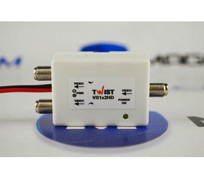 Фотографія 2 товара Видеоразветвитель Twist VS1x2 (ВУ-1/2)