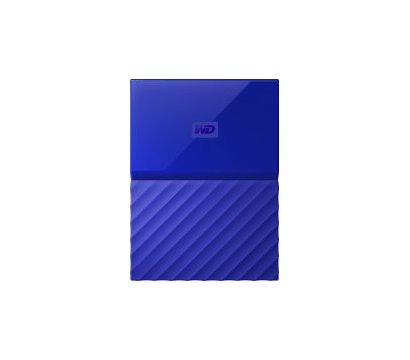 Фото жесткого диска Western Digital My Passport 3TB 5400rpm 2.5 USB 3.0 External Blue — WDBYFT0030BBL-WESN