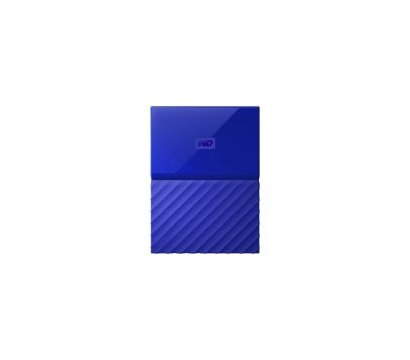 Фото жесткого диска Western Digital My Passport 4TB 5400rpm 2.5 USB 3.0 External Blue — WDBYFT0040BBL-WESN