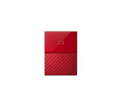 Фото жесткого диска Western Digital My Passport 4TB 5400rpm 2.5 USB 3.0 External Red — WDBYFT0040BRD-WESN