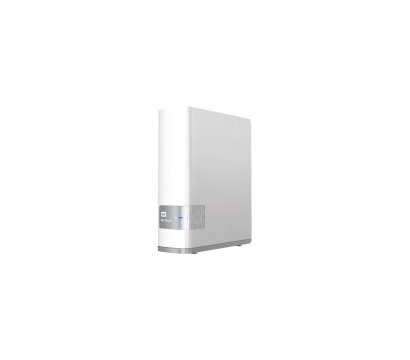 Фото сетевого накопителя (NAS) Western Digital My Cloud 8TB 3.5 LAN/USB 3.0 — WDBCTL0080HWT-EESN