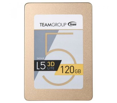 Фото  SSD Team L5 LITE 120GB SATA III 3D V-NAND TLC — T253TD120G3C101