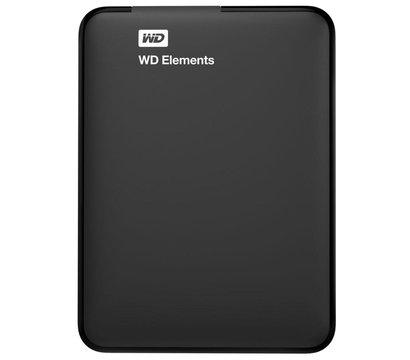 Фото жесткого диска Western Digital Elements Desktop 500GB 2.5 USB 3.0 External Black — WDBUZG5000ABK-WESN
