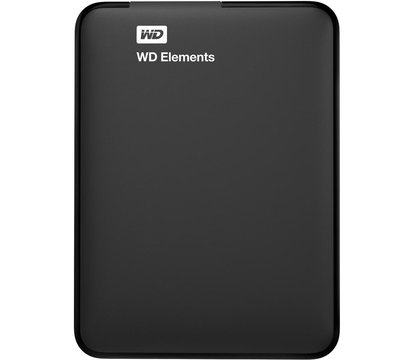 Фото жесткого диска Western Digital Elements 2TB 2.5 USB 3.0 External Black — WDBU6Y0020BBK-WESN