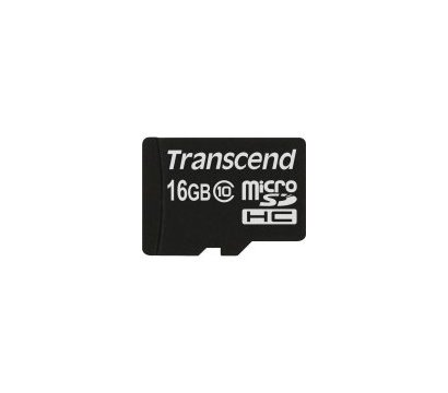 Фото карты памяти Transcend MicroSDHC Class 10 16GB - TS16GUSDC10