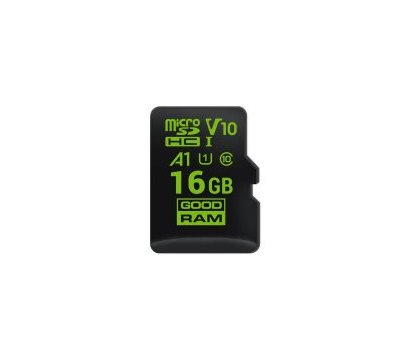 Фото карты памяти GoodRam UHS-I MicroSDHC Class 10 16GB A1 for Android - M1A0-0160R11-A1
