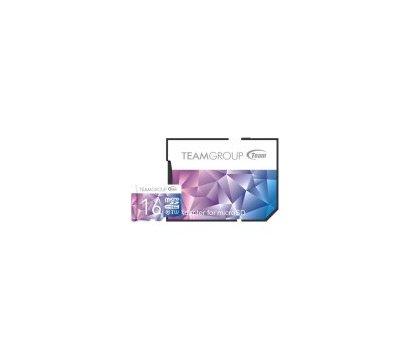 Фото карты памяти Team Color II UHS-I/U3 MicroSDHC 16GB + SD-adapter Purple/Blue - TCIIUSDH16GU349