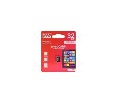 Фото карты памяти GoodRam UHS-I MicroSDHC Class 10 32GB - M1A0-0320R11