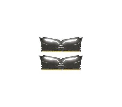 Фото модуля памяти Team T-Force Night Hawk Black LED/White DDR4 2x16384Mb 2666MHz — THWD432G2666HC15BDC01