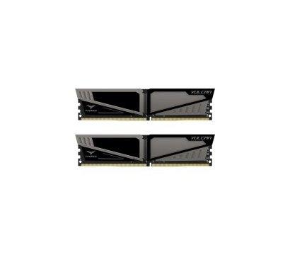 Фото модуля памяти Team T-Force Vulcan Gray DDR4 2x16384Mb 2666MHz — TLGD432G2666HC15BDC01