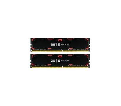 Фото модуля памяти Goodram Iridium Black DDR4 2x4096Mb 2400MHz — IR-2400D464L15S/8GDC