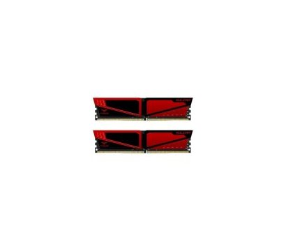 Фото модуля памяти Team T-Force Vulcan Red DDR4 2x4096Mb 3200MHz — TLRED48G3200HC16CDC01