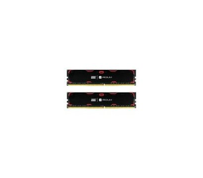 Фото модуля памяти Goodram Iridium Black DDR4 2x8192Mb 2133MHz — IR-2133D464L15S/16GDC