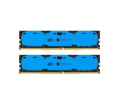 Фото модуля памяти Goodram Iridium Blue DDR4 2x8192Mb 2400MHz — IR-B2400D464L15S/16GDC