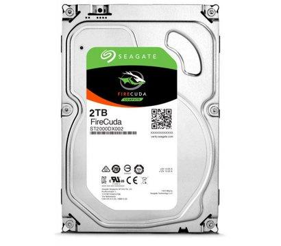 Фото жесткого диска Seagate FireCuda 2Tb 7200rpm 64MB Buffer SATA III — ST2000DX002