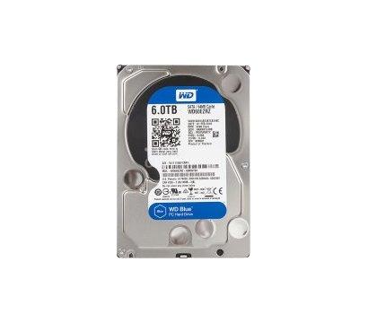 Фото жесткого диска Western Digital Blue 6TB 64МB 3.5 SATA III — WD60EZRZ