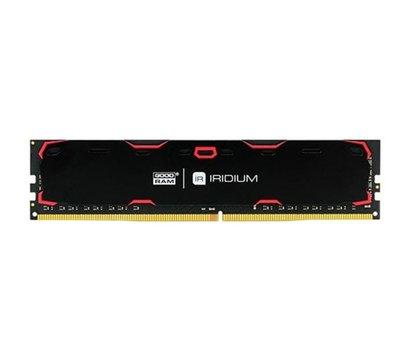 Фото модуля памяти Goodram Iridium Black DDR4 4096Mb 2400MHz — IR-2400D464L17S/4G