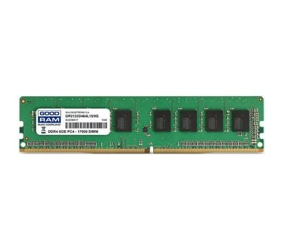 Фото модуля памяти Goodram DDR4 8192Mb 2133MHz — GR2133D464L15S/8G