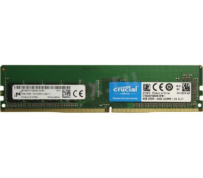 Фото модуля памяти Crucial Micron DDR4 8192M 2400MHz — CT8G4DFS824A