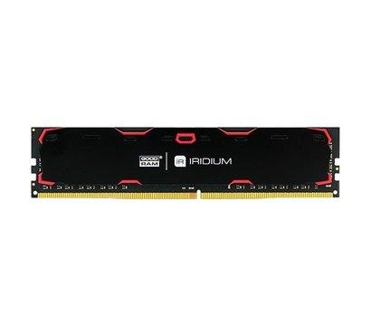 Фото модуля памяти Goodram Iridium Black DDR4 8192Mb 2400MHz — IR-2400D464L15S/8G