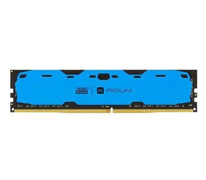 Фото модуля памяти Goodram Iridium Blue DDR4 8192Mb 2400MHz — IR-B2400D464L15S/8G