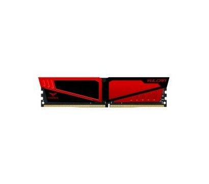 Фото модуля памяти Team T-Force Vulcan Red DDR4 8192Mb 2400MHz — TLRED48G2400HC1401