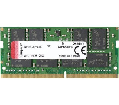 Фото модуля памяти Kingston HyperX Impact SO-DIMM DDR4 16384Mb 2400MHz — KVR24S17D8/16