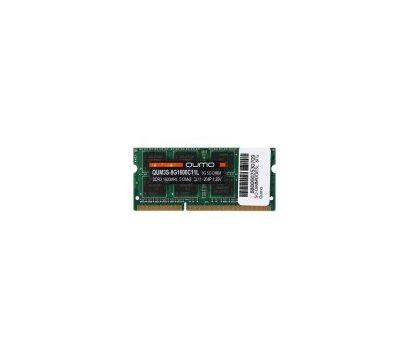 Фото модуля памяти Qumo SO-DIMM DDR3 8192Mb 1600MHz — QUM3S-8G1600C11L
