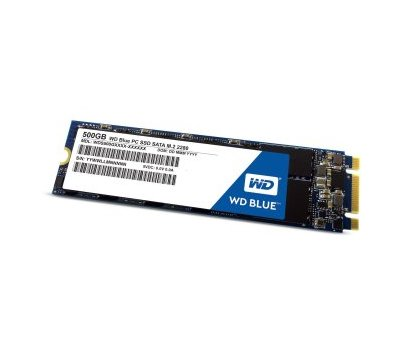 Фото  SSD Western Digital Blue 500GB M.2 SATAIII TLC — WDS500G1B0B