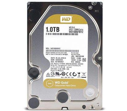 Фото жесткого диска Western Digital Gold 1TB 7200rpm 128MB Buffer 3.5 SATA III — WD1005FBYZ