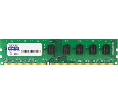 Фото модуля памяти Goodram Iridium Black DDR3 4096Mb 1600MHz — GR1600D3V64L11S/4G