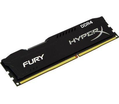 Фото модуля памяти Kingston HyperX Fury Black DDR4 16384Mb 2666MHz — HX426C16FB/16