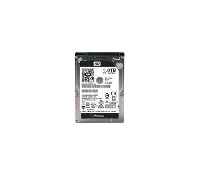 Фото жесткого диска Western Digital Black 1TB 7200rpm 32MB 2.5 SATA III — WD10JPLX