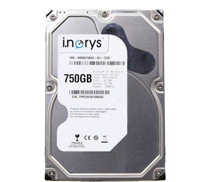Фото жесткого диска i.norys 750GB 7200rpm 32MB 3.5 SATA — INO-IHDD0750S2-D1-7232