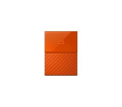Фото жесткого диска Western Digital My Passport 1TB 5400rpm 2.5 USB3.0 External Orange — WDBYNN0010BOR-WESN