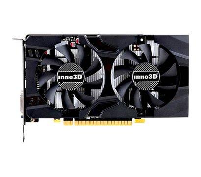 Фото №1 видеокарты Inno3D GeForce GT1050 Ti Twin X2 (4096MB, GDDR5, 128bit) — N105T-1DDV-M5CM