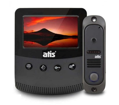 Фото домофонного комплекта Atis AD-430B Kit box