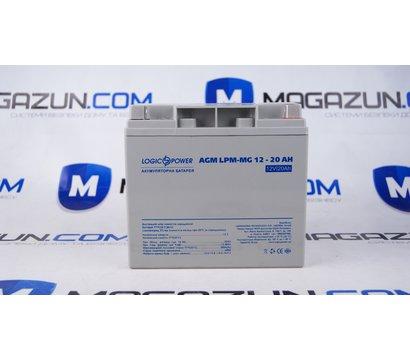 Фото аккумулятора LogicPower LPM-MG 12V 20AH